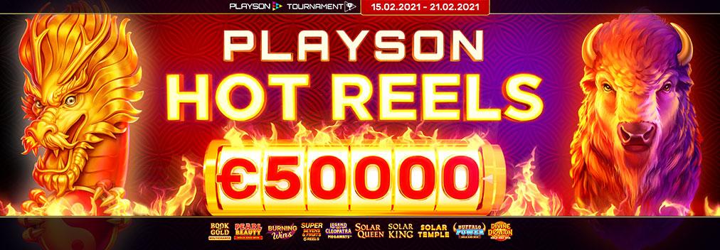 Playson Hot Reels Tournament
