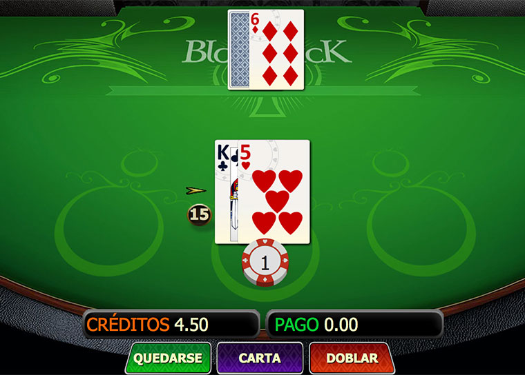 Blackjack Singlehand Mobile