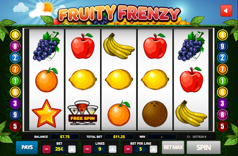 Fruity Frenzy