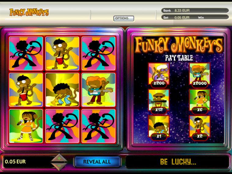 Funky Monkeys Scratch