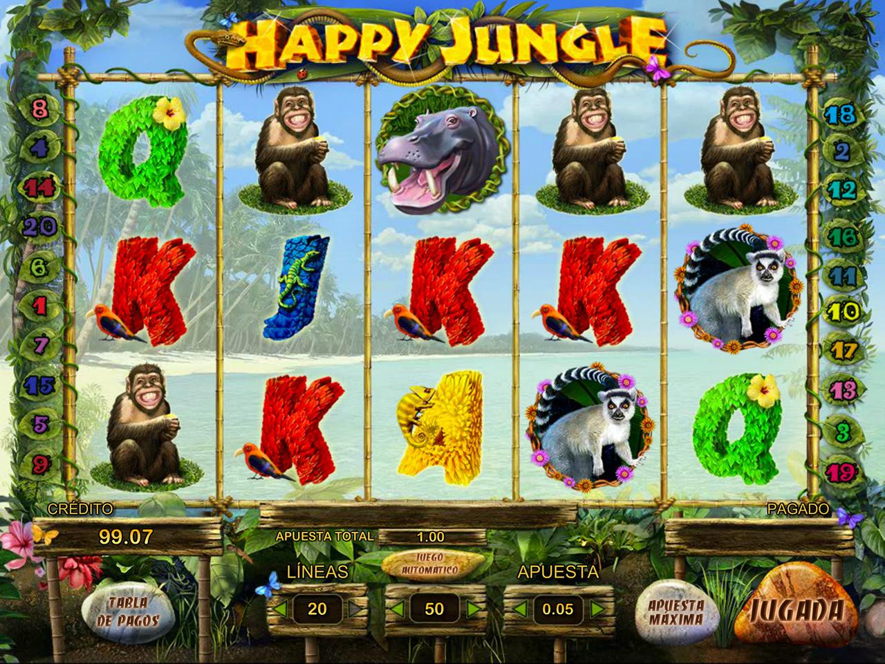 Happy Jungle Deluxe