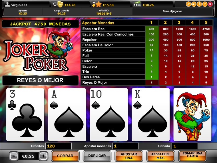 Joker Poker Mobile