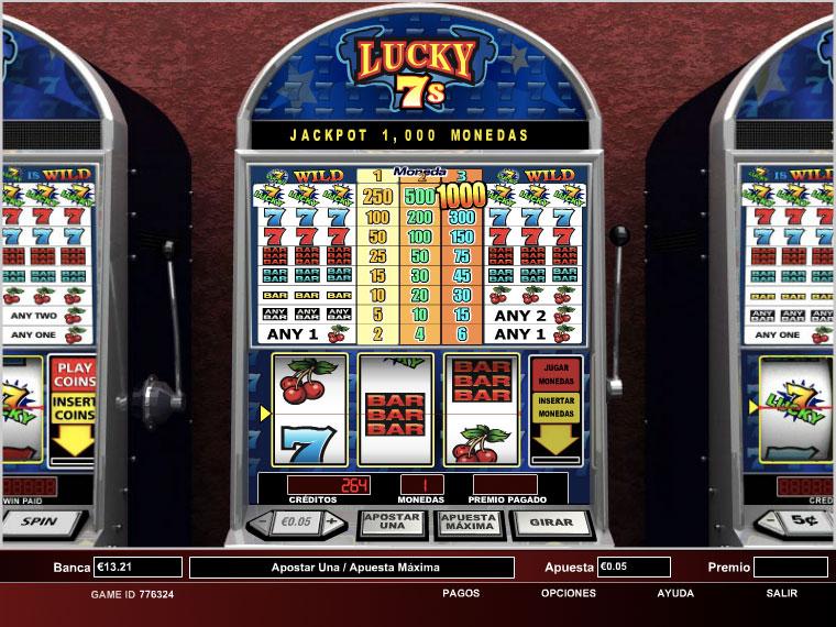 Lucky 7s - 1 Line